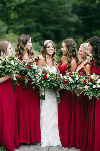 Eye-catching Red Winter Wedding Ideas You Will Never Regret Having! 002