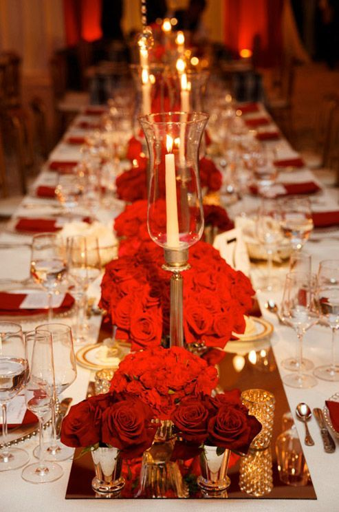 Eye-catching Red Winter Wedding Ideas You Will Never Regret Having! 011