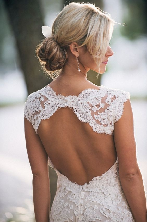Stunning Open Back Wedding Dresses That Wow 009