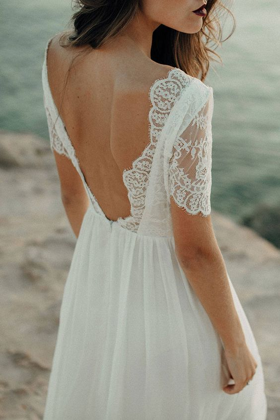 Stunning Open Back Wedding Dresses That Wow 012