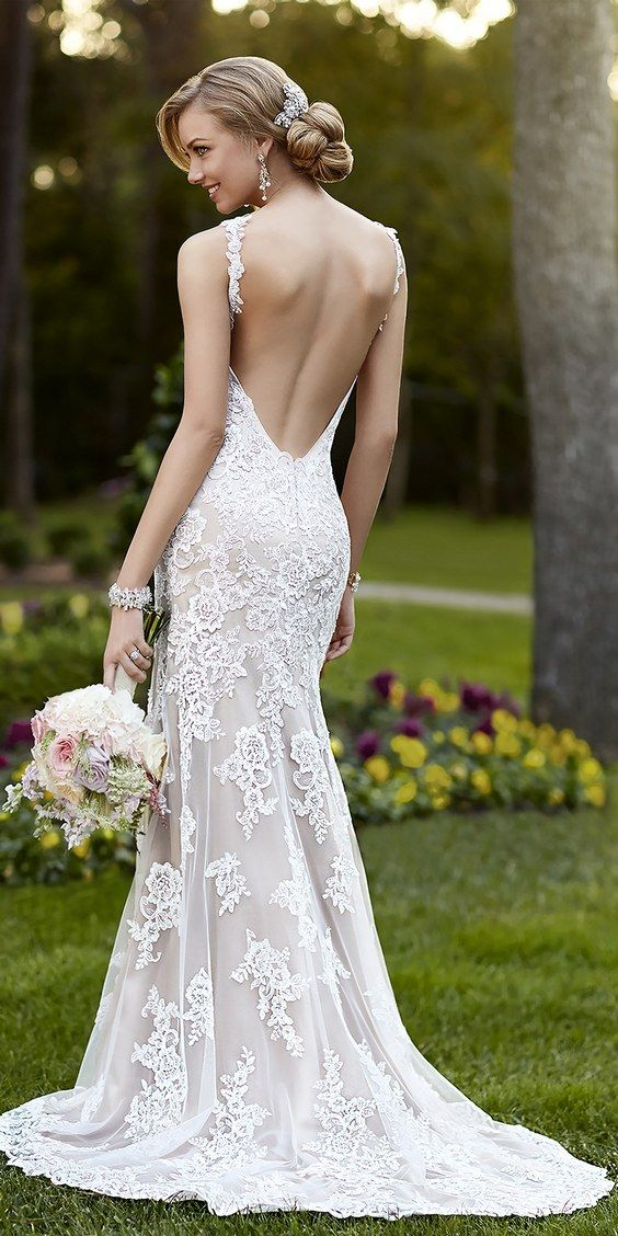 Stunning Open Back Wedding Dresses That Wow 013