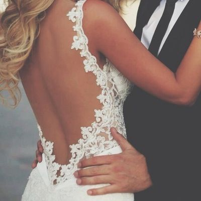 Stunning Open Back Wedding Dresses That Wow 021