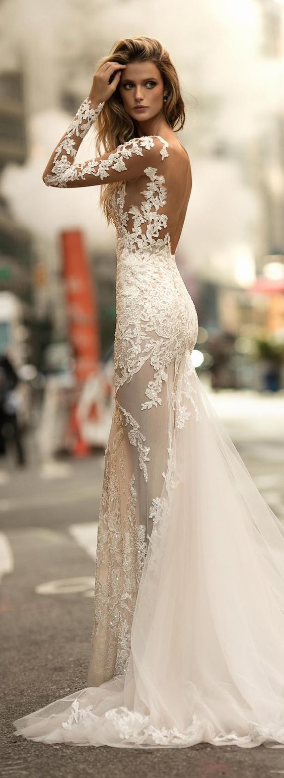 Stunning Open Back Wedding Dresses That Wow 023