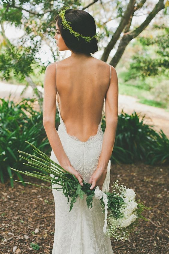 Stunning Open Back Wedding Dresses That Wow 025