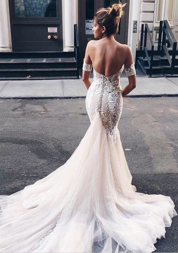 Stunning Open Back Wedding Dresses That Wow 026
