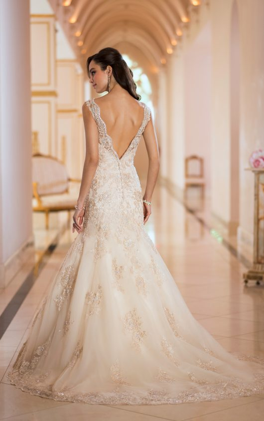Stunning Open Back Wedding Dresses That Wow 029