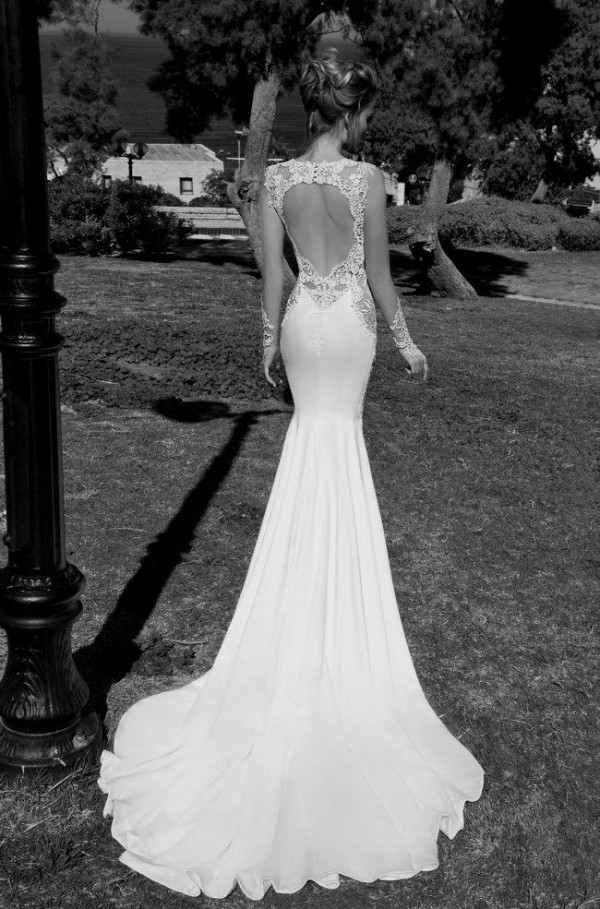 Stunning Open Back Wedding Dresses That Wow 031