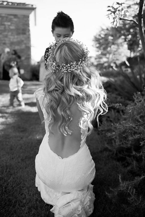 Stunning Open Back Wedding Dresses That Wow 034