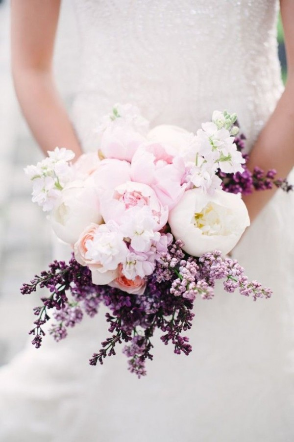 Super picture-perfect peony wedding bouquets you will adore 004