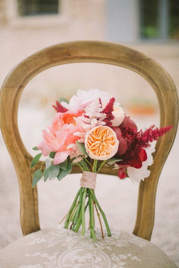 Super picture-perfect peony wedding bouquets you will adore 010