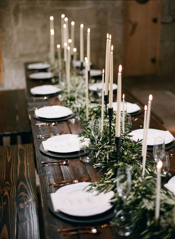 Most Shared Wedding Table Setting Ideas on Pinterest