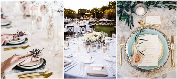 & Top 26 Most Shared Wedding Table Setting Ideas on Pinterest