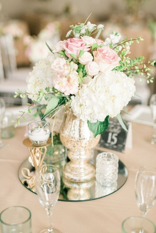 Vintage Wedding Centerpieces That Take Your Wedding to a New Level 024