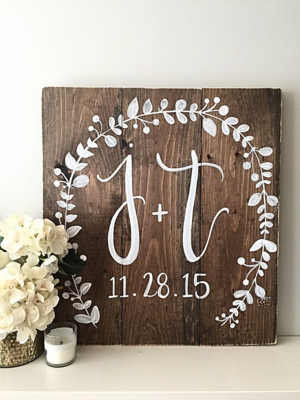 Wedding Monogram Decoration Ideas That Wow 001