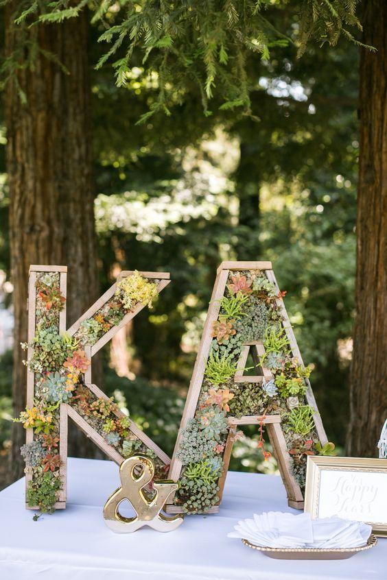 Wedding Monogram Decoration Ideas That Wow 004