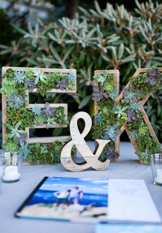 Wedding Monogram Decoration Ideas That Wow 005