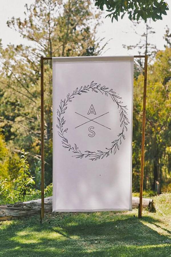 Wedding Monogram Decoration Ideas That Wow 007
