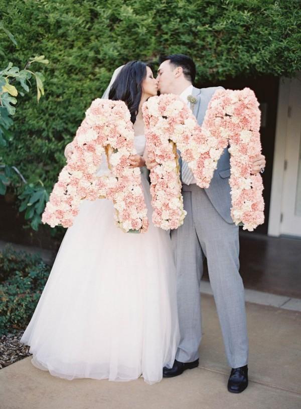 Wedding Monogram Decoration Ideas That Wow 008