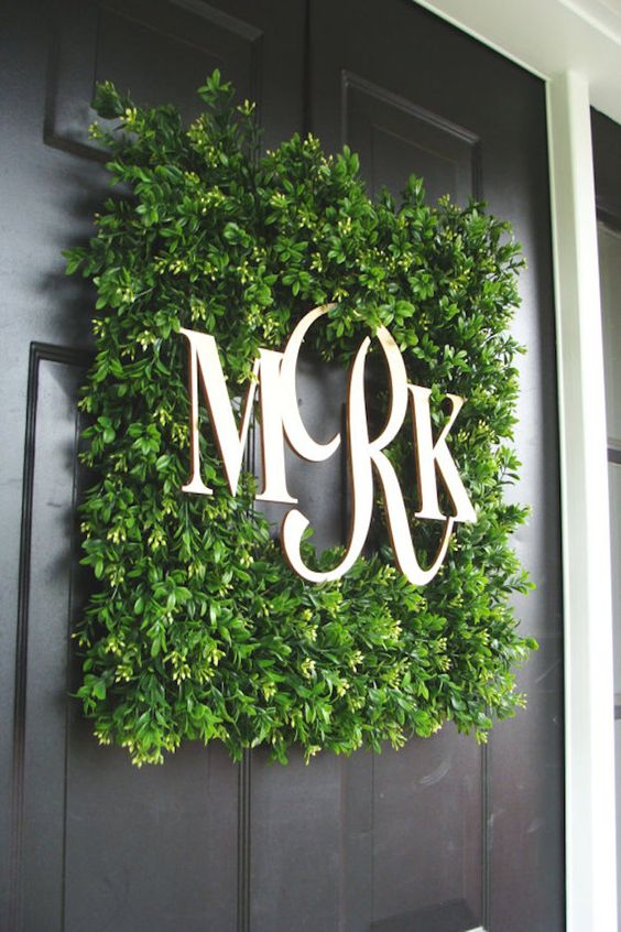Wedding Monogram Decoration Ideas That Wow 011