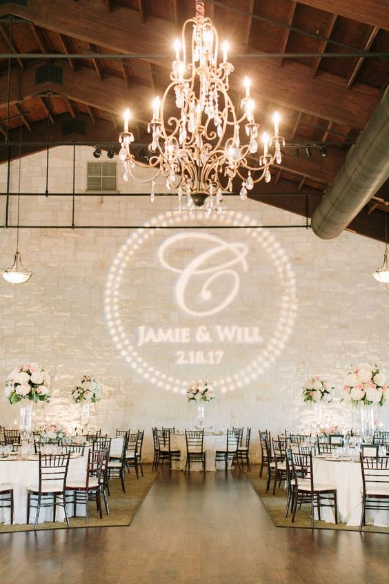 Wedding Monogram Decoration Ideas That Wow 012