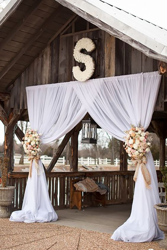 Wedding Monogram Decoration Ideas That Wow 013