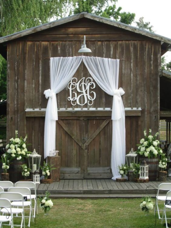 Wedding Monogram Decoration Ideas That Wow 014