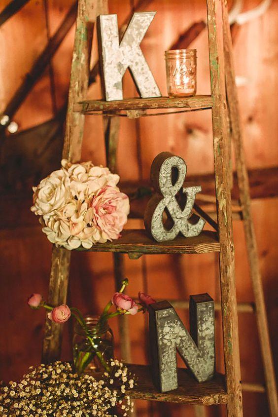 Wedding Monogram Decoration Ideas That Wow 015