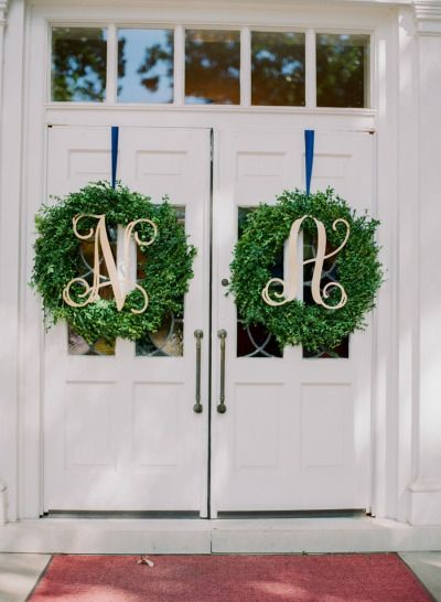 Wedding Monogram Decoration Ideas That Wow 016