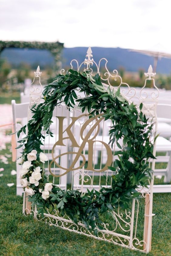 Wedding Monogram Decoration Ideas That Wow 017