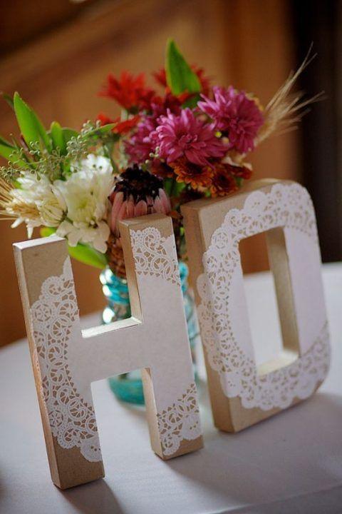 Wedding Monogram Decoration Ideas That Wow 019