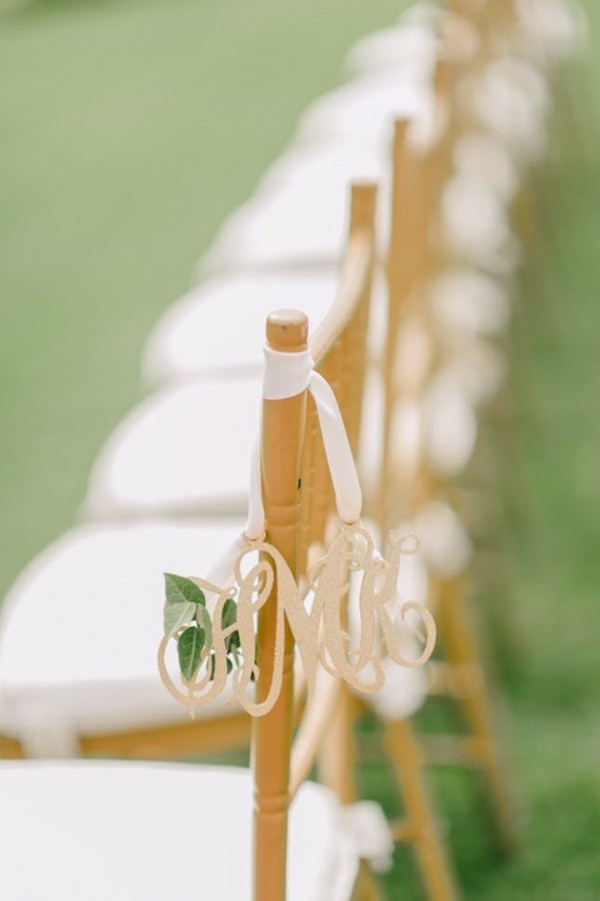 Wedding Monogram Decoration Ideas That Wow 022