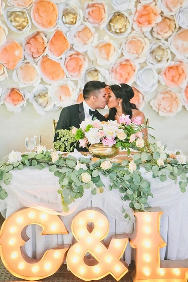 Wedding Monogram Decoration Ideas That Wow 023
