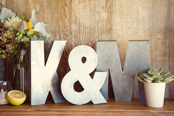 Wedding Monogram Decoration Ideas That Wow 027