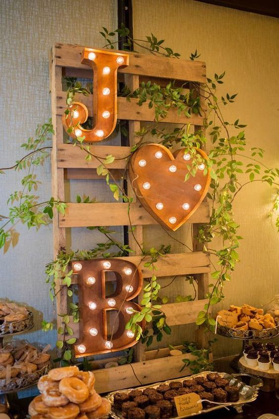 Wedding Monogram Decoration Ideas That Wow