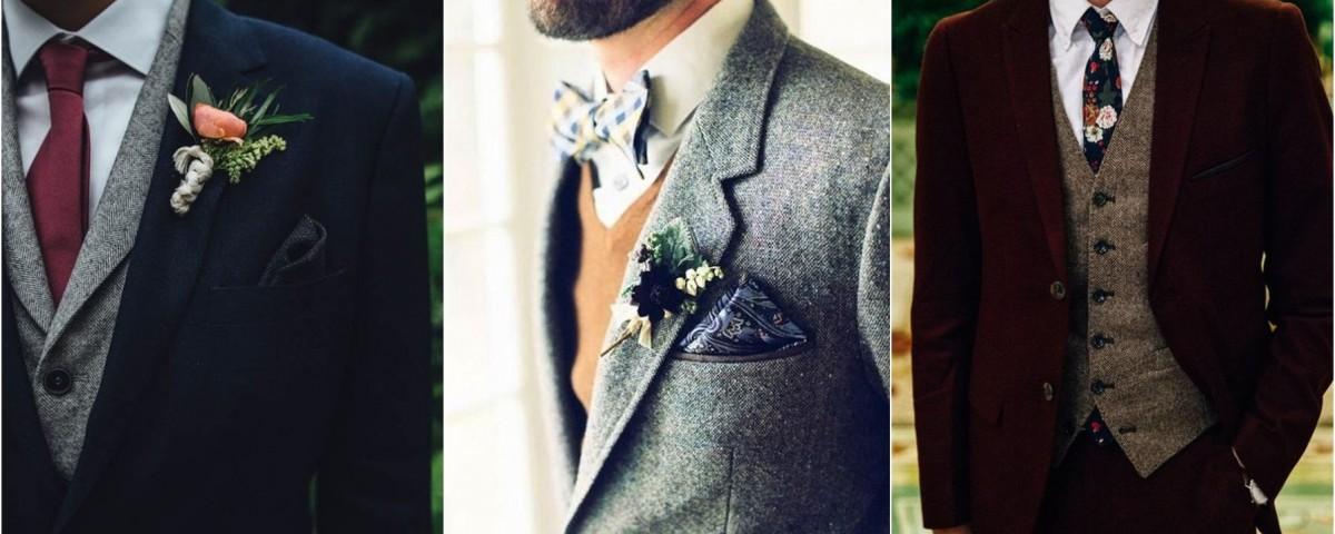 23 Stylish Winter Groom Attires Too Cool not to Have!