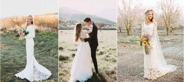 26 Stylish Long Sleeve Wedding Dresses to Rock!