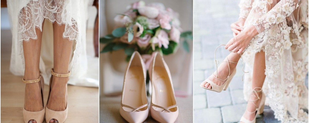 27 Stylish and Charming Nude Wedding Shoes for 2018 trend!