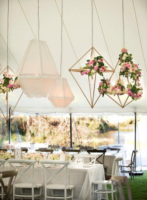 Modern Industrial Geometric Wedding Ideas 008