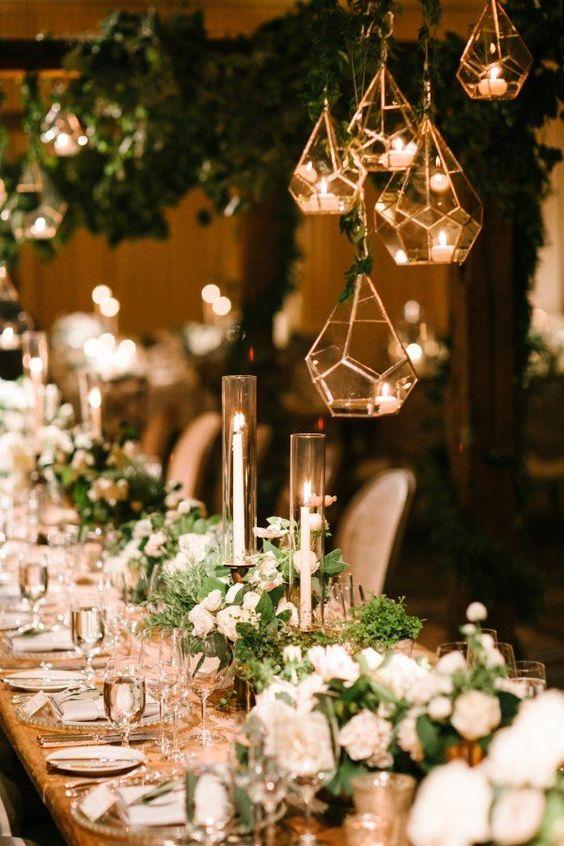 Modern Industrial Geometric Wedding Ideas 021