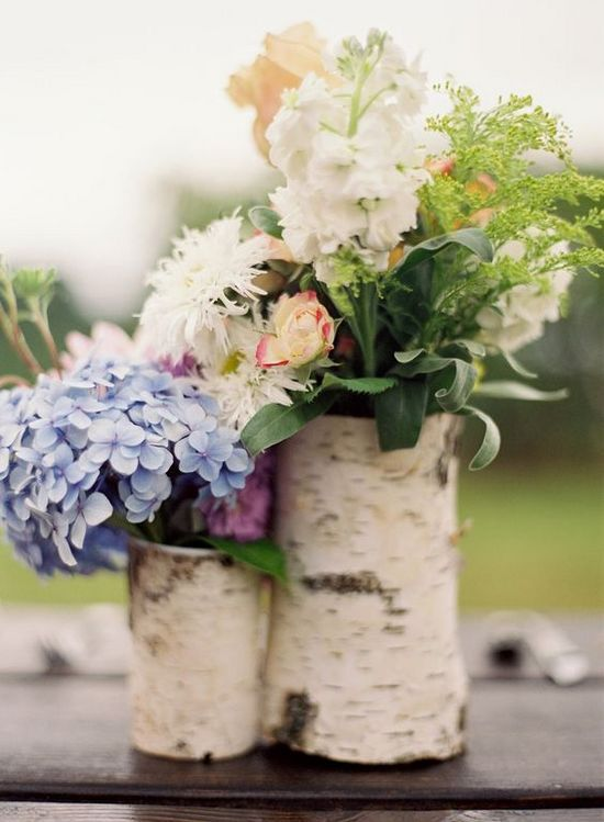 26 ideas to rock your winter wedding with birch centerpieces rock your winter wedding with birch centerpieces 001 junglespirit