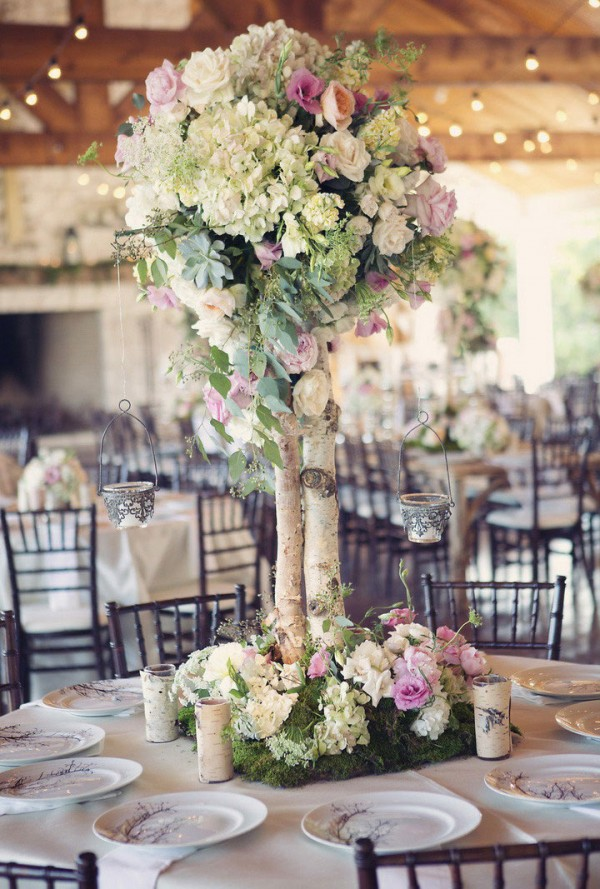 Rock Your Winter Wedding with Birch Centerpieces 003
