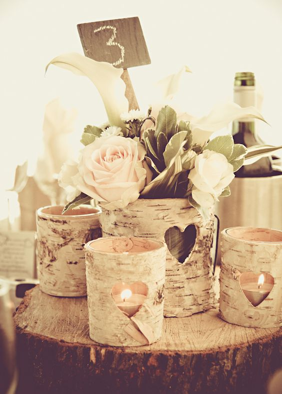 Rock Your Winter Wedding with Birch Centerpieces 005