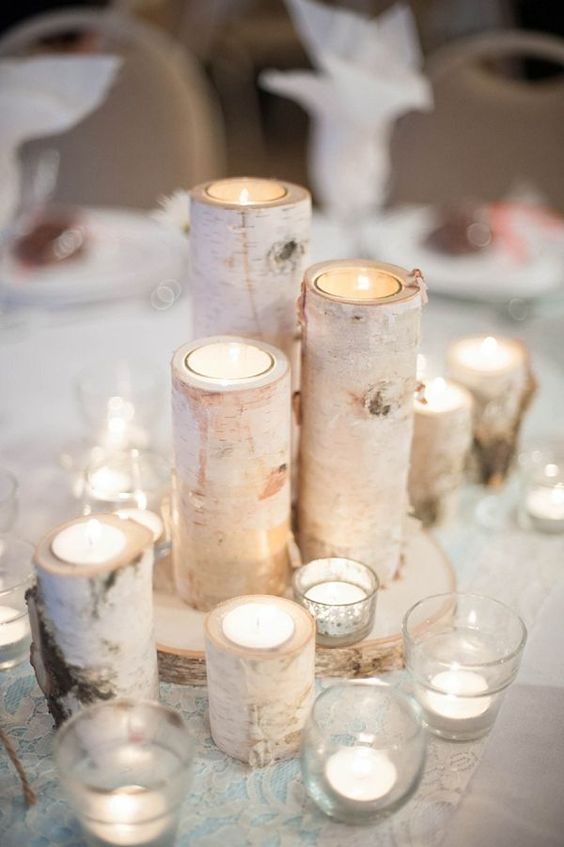 Rock Your Winter Wedding with Birch Centerpieces 009