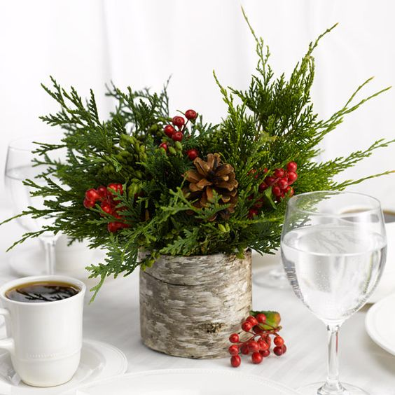 Rock Your Winter Wedding with Birch Centerpieces 010