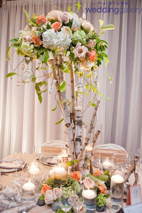 Rock Your Winter Wedding with Birch Centerpieces 011