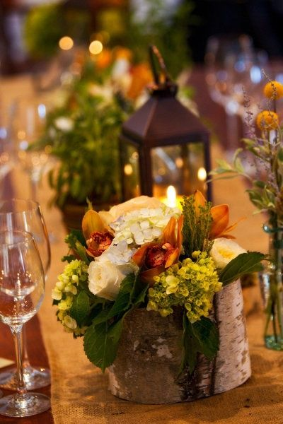 Rock Your Winter Wedding with Birch Centerpieces 012