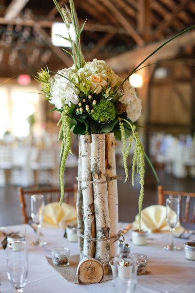 Rock Your Winter Wedding with Birch Centerpieces 014