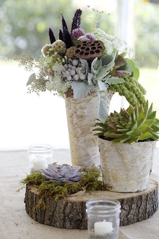 Rock Your Winter Wedding with Birch Centerpieces 015