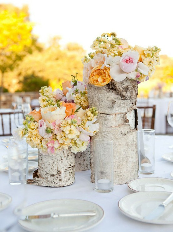 Rock Your Winter Wedding with Birch Centerpieces 020
