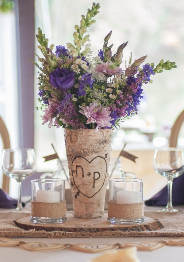 Rock Your Winter Wedding with Birch Centerpieces 025